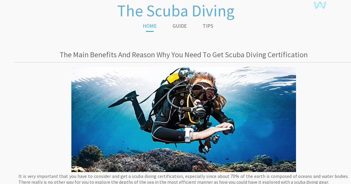 Thescubadivingblog Tips